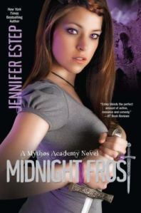 Midnight Frost by Jennifer Estep (Mythos Academy #5)
