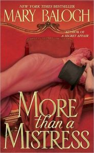More than a Mistress by Mary Balogh (Mistress #1)