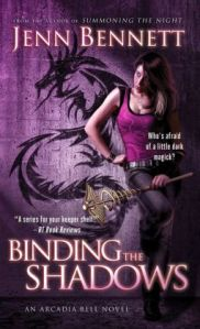 Binding the Shadows by Jenn Bennett (Arcadia Bell #3)