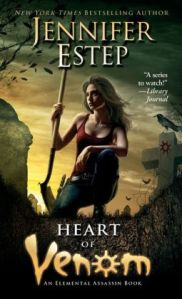 Heart of Venom by jennifer Estep (Elemental Assassin #9)