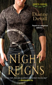 Night Reigns by Dianne Duvall (Immortal Guardians #2)