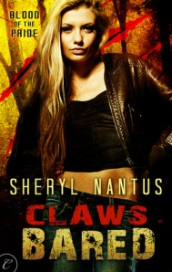Claws Bared by Sheryl Nantus (Blood of the Pride #2)
