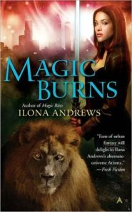 Magic Burns by Ilona Andrews (Kate Daniels #2)