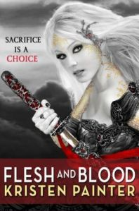 Flesh and Blood by Kristen Painter (House of Comarré #2)